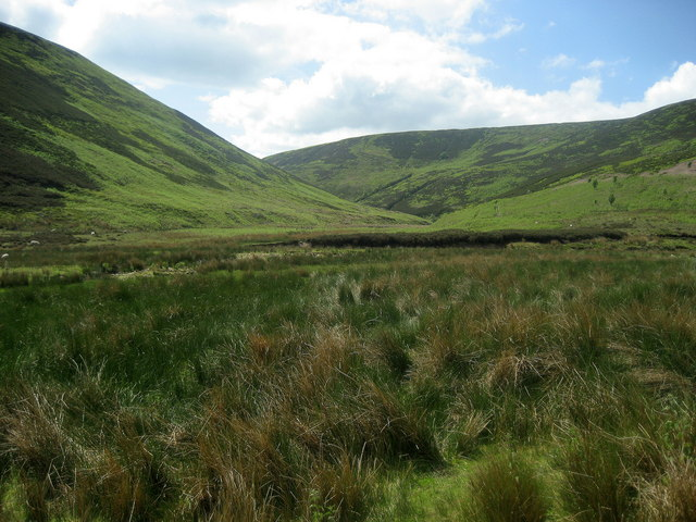 A View up Bleadale