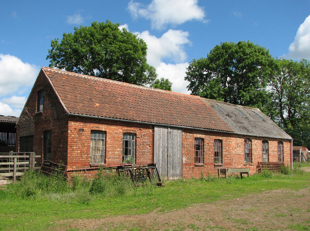 Harby Hill: former ironstone railway workshop