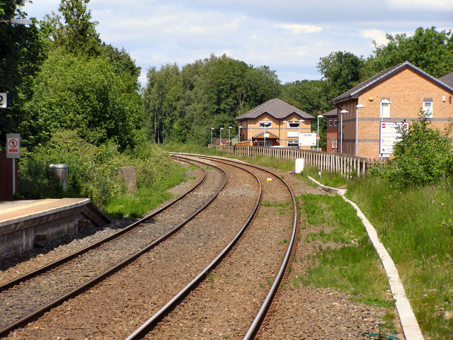 Railway North of Whalley Station