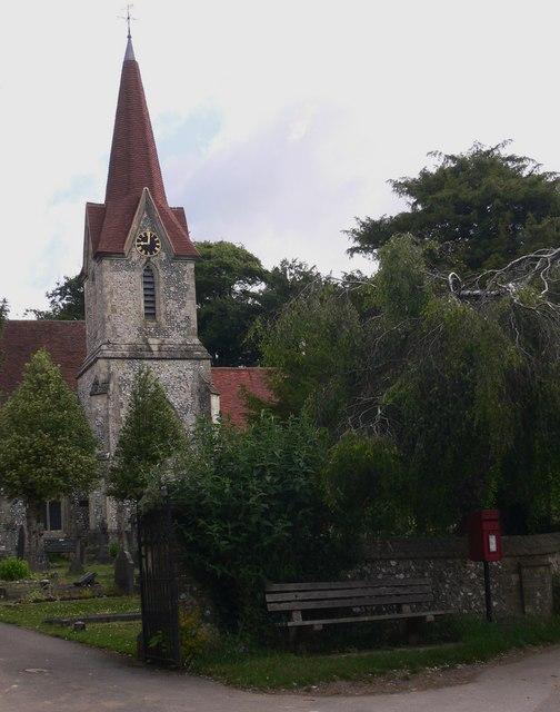 Blendworth Church