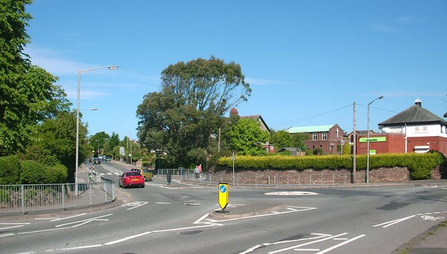Traffic Island on Flass Lane