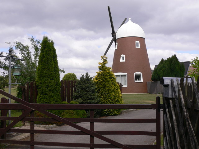 The windmill on Windmill Hill
