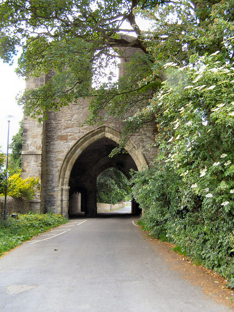 North West Gatehouse, Whalley Abbey