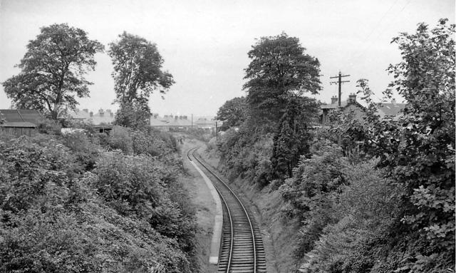 Broomieknowe Station (remains)