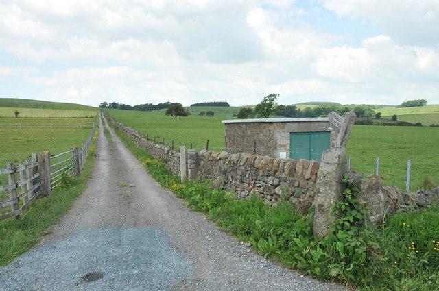 Bridleway near Gressingham