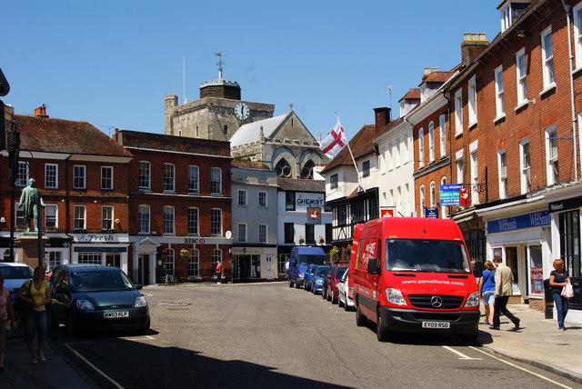 Market Place, Romsey, Hampshire