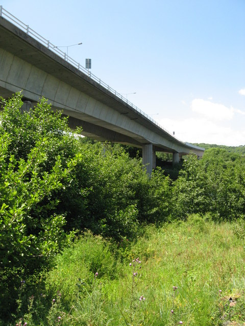 A4232 viaduct over River Ely, Cardiff