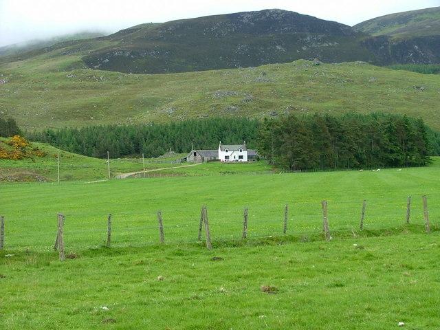 Looking towards Glenbeg farm