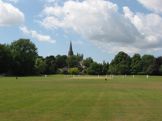 Cricket near Llandaff