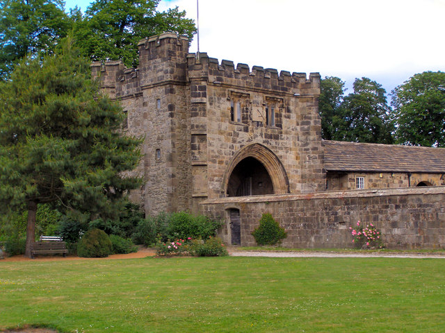 Whalley Abbey - North East Gatehouse