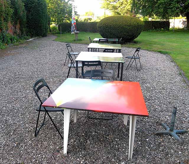 Tables at Maesmawr