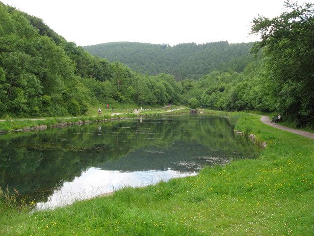 Lake in Cwm Carn