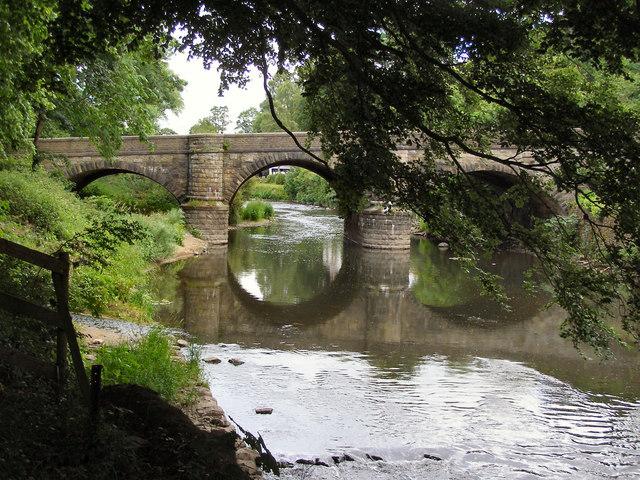 River Calder, Whalley Bridge