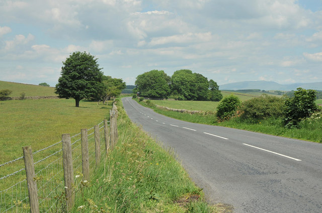 Road from Lancaster to Kirkby Lonsdale