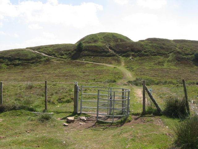 Twmbarlwm fort