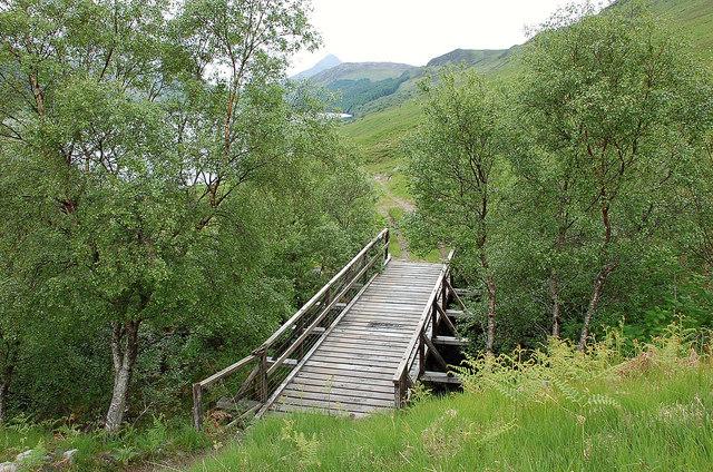 Footbridge over the Allt an Reinidh