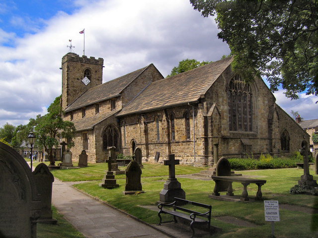 The Parish Church of St Mary & All Saints, Whalley