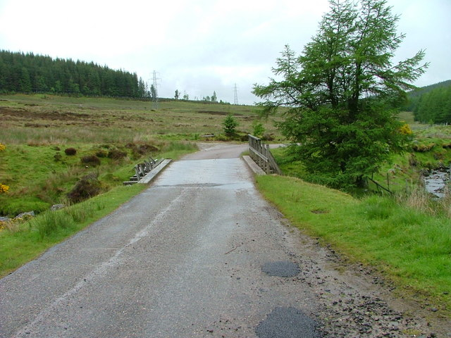 Bridge over the Allt Beag