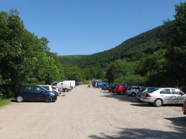 Cwm Carn visitor centre car park