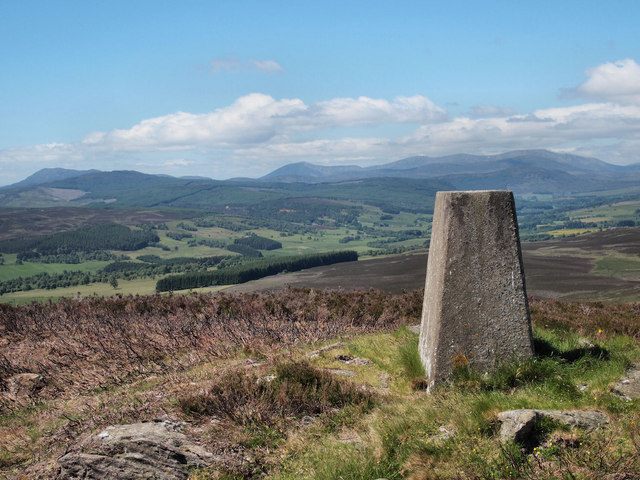 Knock of Balmyle trig point
