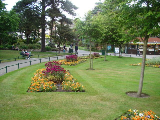 Flowerbeds in Lower Gardens