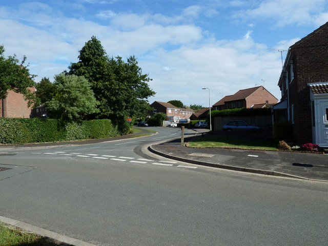 Junction of Holly Drive and Spruce Avenue