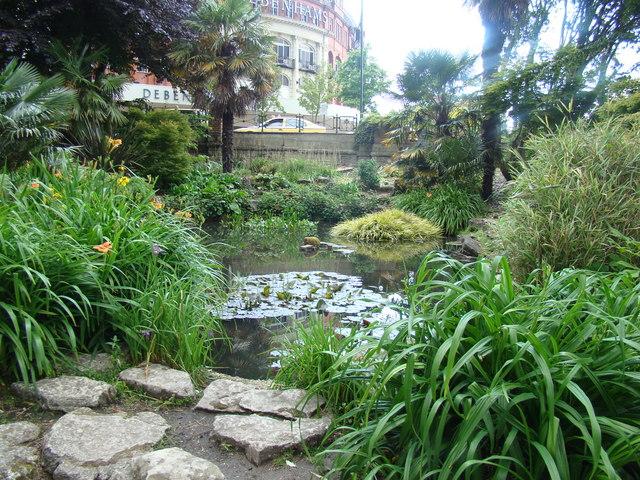 Pond in Lower Gardens