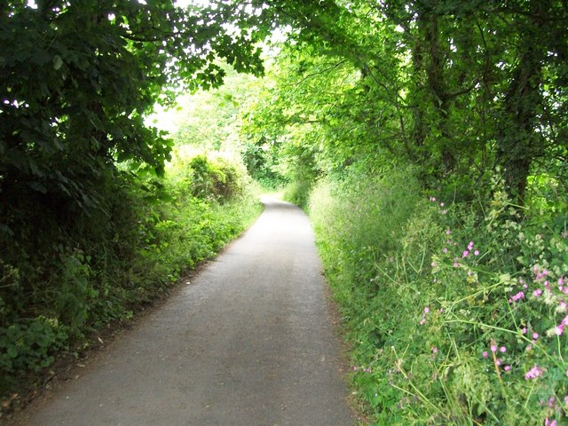 Access road to the A499
