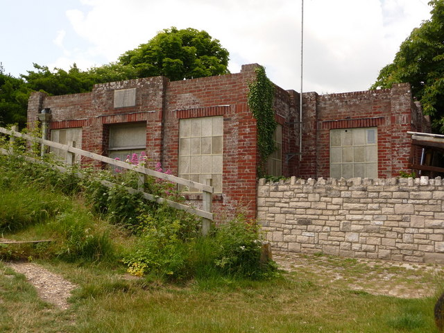 West Lulworth: waterworks building