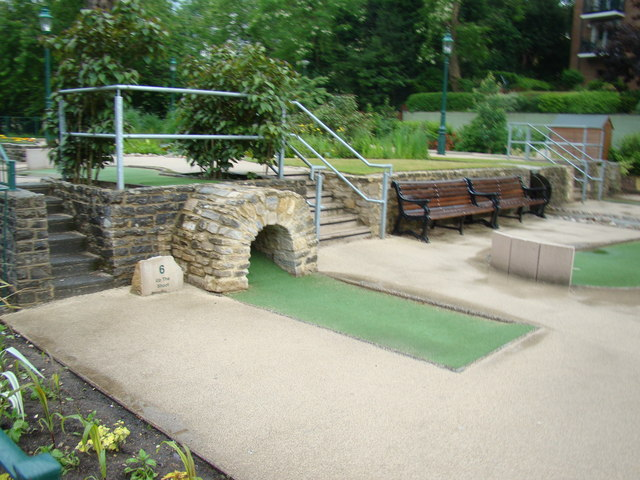 Miniature golf course in Lower Gardens #3