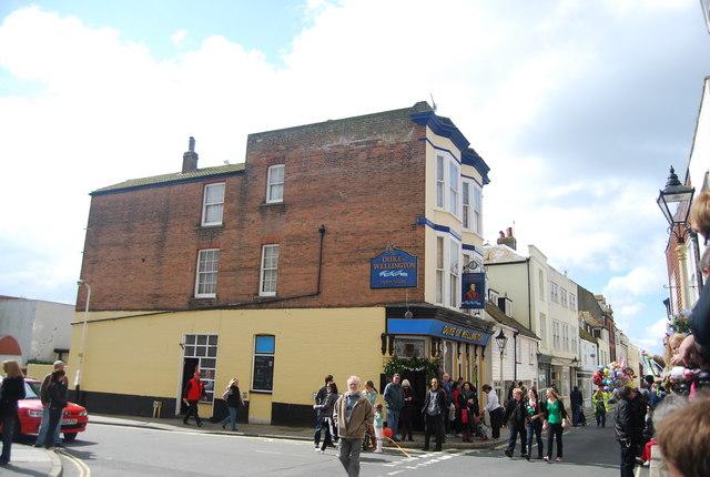 Duke of Wellington, High St, Old Town