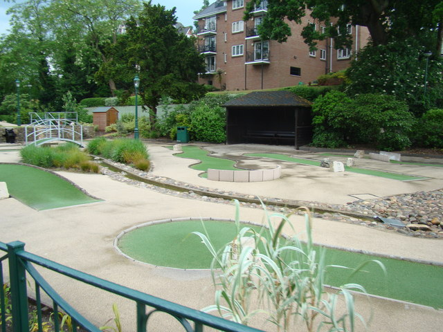 Miniature golf course in Lower Gardens #2