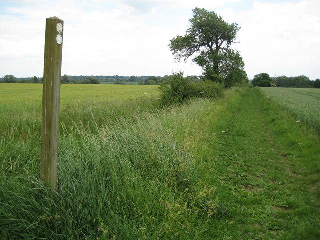 Ickleford: New Ramerwick Farm permissive footpath