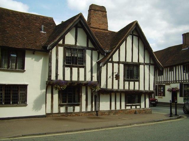 The Swan Inn, Lavenham, Suffolk