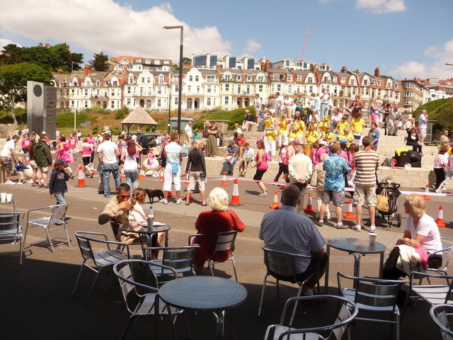 Boscombe: steel band at the Pier Approach