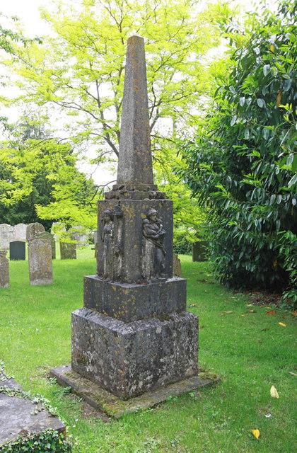 All Saints, Intwood, Norfolk - Memorial