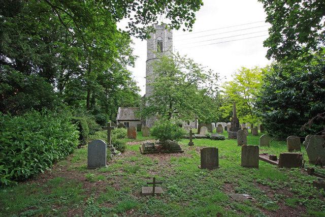 All Saints, Intwood, Norfolk