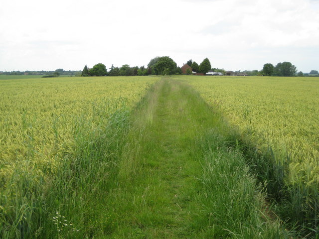 Ickleford: Footpath to New Ramerwick Farm