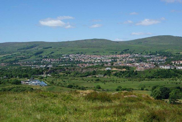 View from Croy Hill