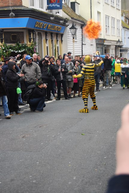 Jack in the Green Festival 2010 - Fire eater (6)