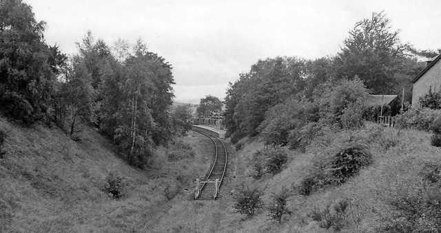 Broughton (Peebles-shire) Station (remains)