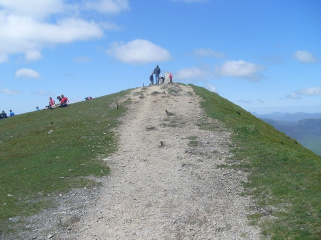 The summit of Ben Vorlich