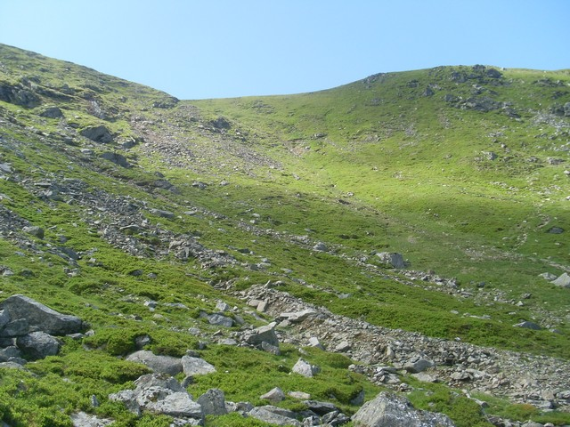 Inside the corrie between Ben Vorlich and Stuc a' Chroin