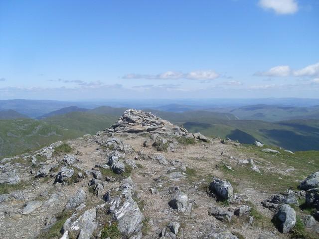 Summit cairn, Stuc a' Chroin
