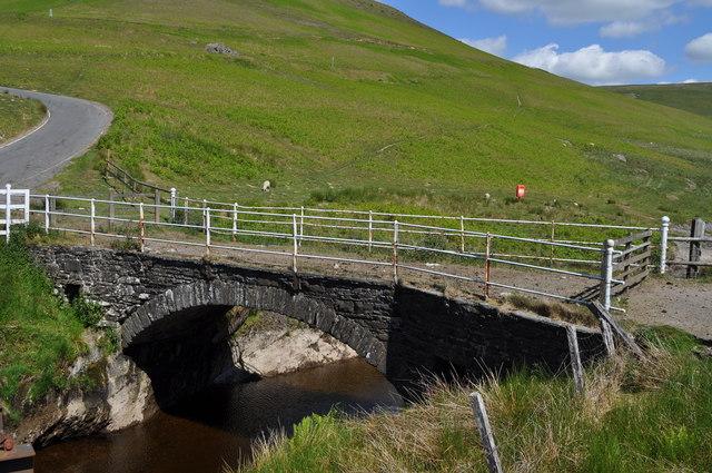 Pont ar Elan - old bridge over the Elan