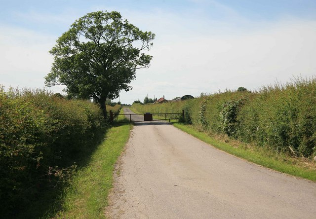 Hagg Lane private bridleway to Egmanton farm