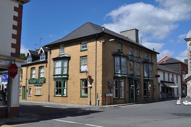The Castle pub, Rhayader