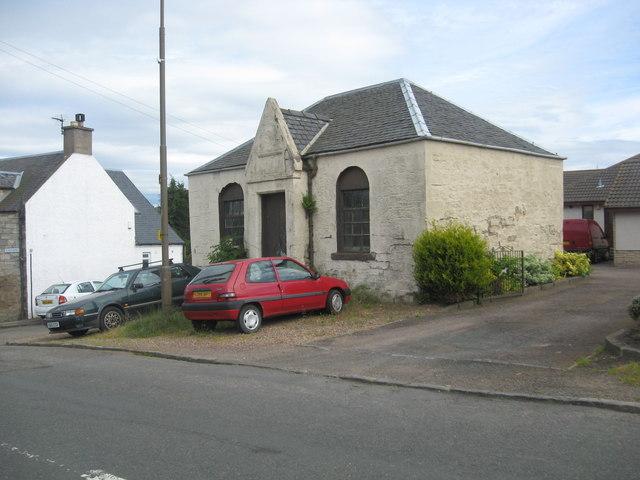 The old Methodist chapel in Elphinstone