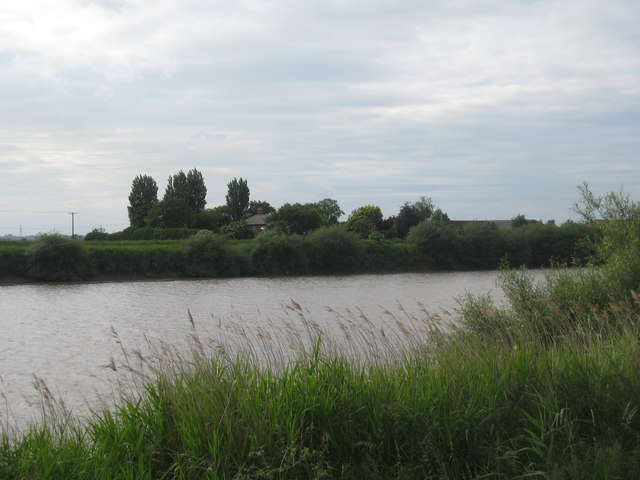 North Ewster from across the Trent