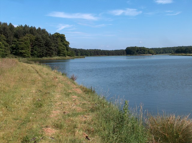 A view of the Great Lake, Welbeck Estate, Notts